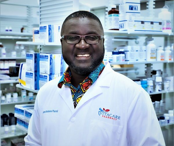John Banahene Welcome to VitaCare Pharmacy of Pickerington Ohio